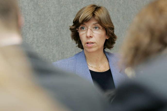 L'ex-ministre déléguée aux affaires européennes et ex-ambassadrice de la France à l'Unesco Catherine Colonna, ici en 2007 à Luxembourg, est nommée ambassadrice à Rome.
