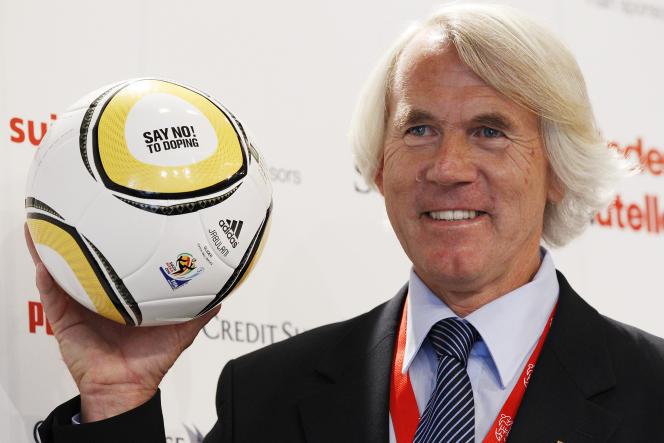Jiri Dvorak, médecin en chef de la FIFA (ici en 2010) a annoncé le 5 juin la mise en place d'un