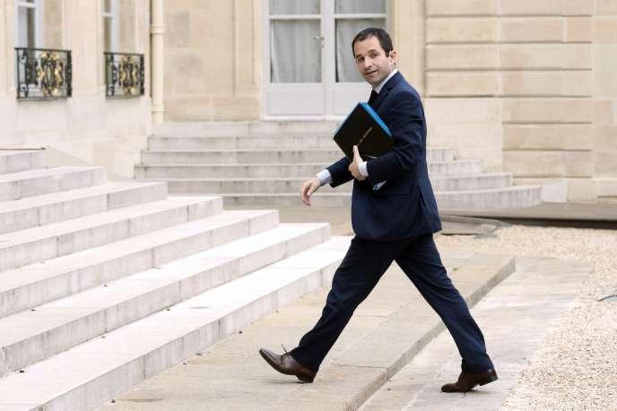 Benoît Hamon à l'Elysée, le 3 juin.