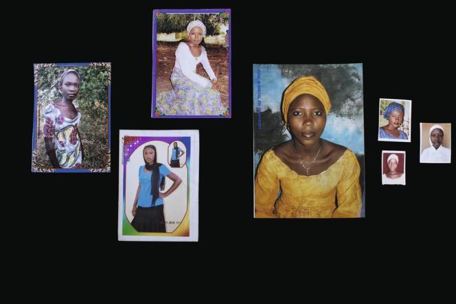 Nouant des liens de confiance avec les familles, Glenna Gordon s'est mise à recevoir des petits paquets en provenance de Chibok. L'un contenant la robe de fête de Hajara Isa, l'autre un petit haut bleu gitane de Hauwa Mutah, d'autres encore des cahiers d'écolières ou des portraits.