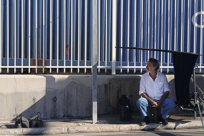 Le cinéaste Robert Guédiguian à Marseille.