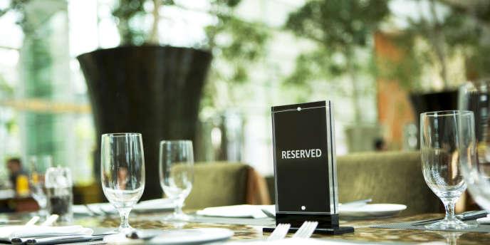 Aux Etats-Unis, seuls 35 000 restaurants disposent d'un service de réservation en ligne.