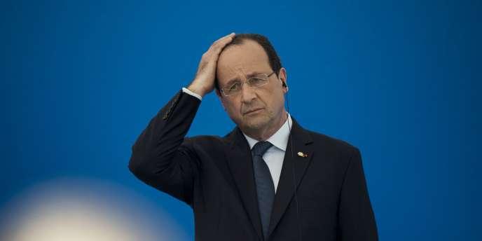 François Hollande en déplacement en Andorre, vendredi 13 juin.