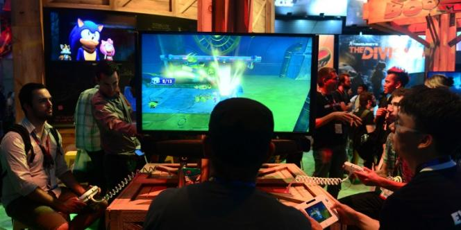 Au Salon du jeu vidéo E3 à Los Angeles, le 11 juin.