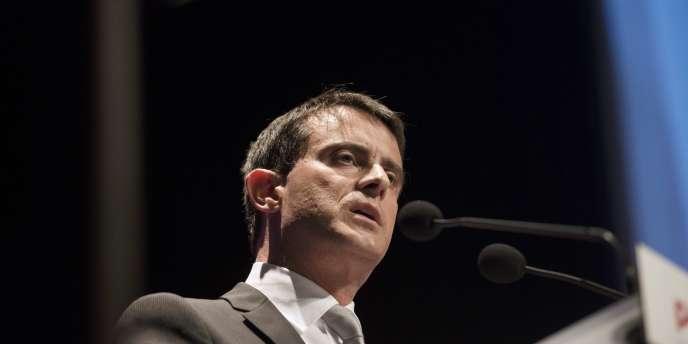 Lors du conseil national du PS, Manuel Valls a mis en garde contre les risques de division.