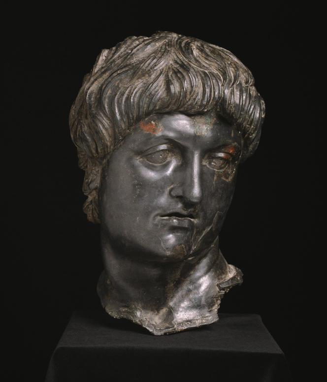 Statue équestre de Néron, bronze, Cilicie, Turquie, IIIe quart du Ier siècle ap. J.-C.
