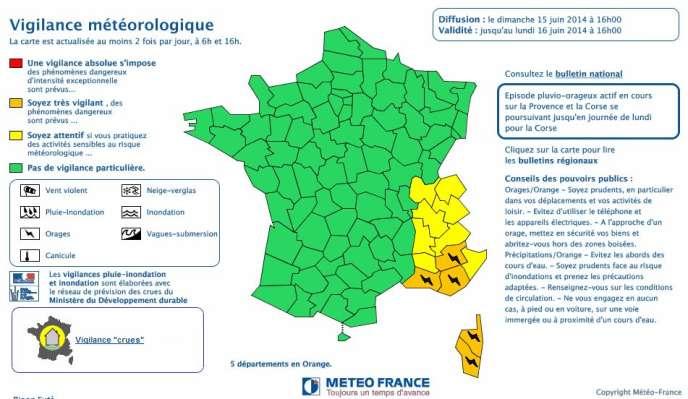 Vigilance Orange Pour Orages Et Inondations Dans Le Sud Est