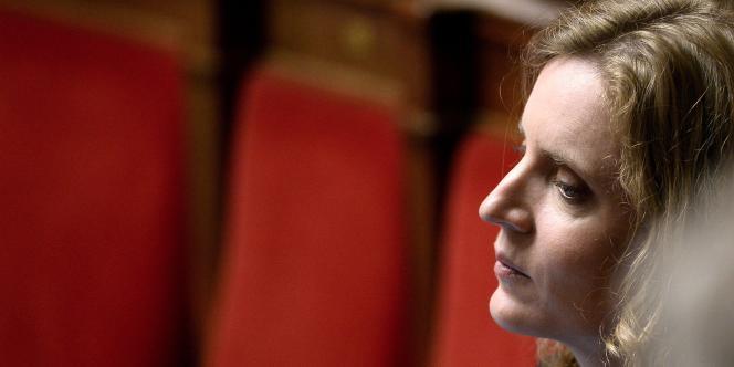 Nathalie Kosciusko-Morizet à l'Assemblée, le 10 juin.