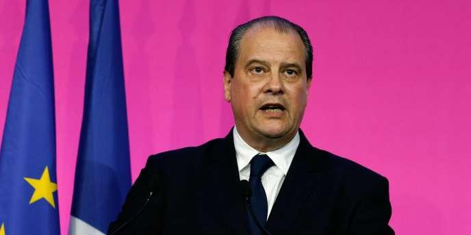 Jean-Christophe Cambadélis, premier secrétaire du PS, au siège du PS à Paris, le 25 mai.