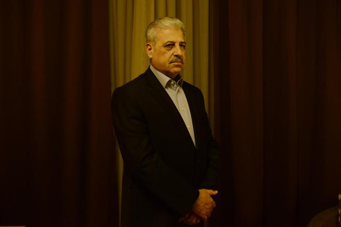 Le gouverneur de la province de Ninive, réfugié à Erbil, au Kurdistan irakien, après la prise de Mossoul par l'Etat islamique en Irak et au Levant.