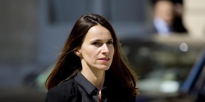 La ministre de la culture, Aurélie Filippetti, le 14 mai, à l'Elysée.