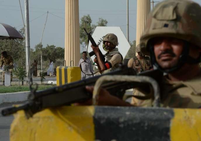 A Karachi, le 16 juin.