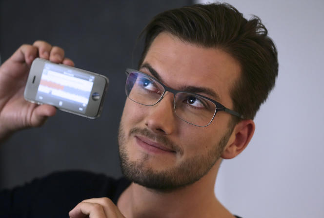 Alexander Ljung, le cofondateur de la start-up SoundCloud.