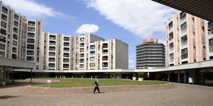 Un ensemble d'habitations de Vandœuvre-les-Nancy, qui figure dans la liste des communes éligibles aux aides de l'Etat pour ses quartiers populaires.