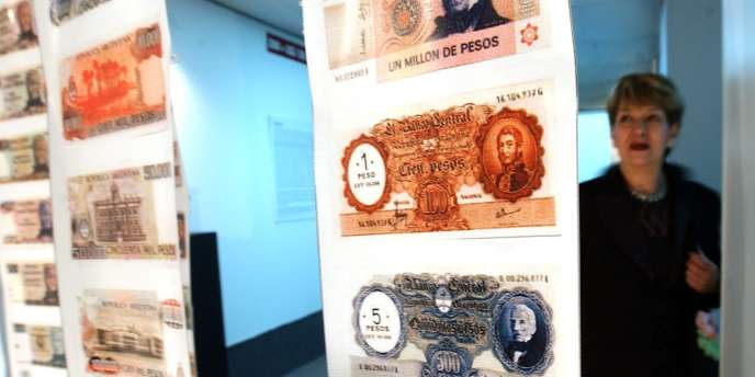 Visite au musée de la dette à Buenos Aires.