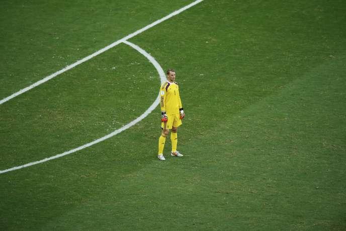 Le gardien allemand Manuel Neuer, ici le 16 juin lors de la rencontre Allemagne-Portugal.