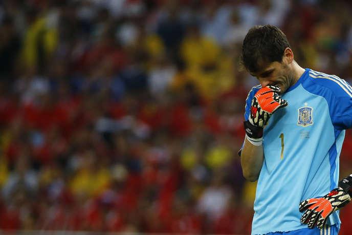 Iker Casillas, le 18 juin à Rio de Janeiro.