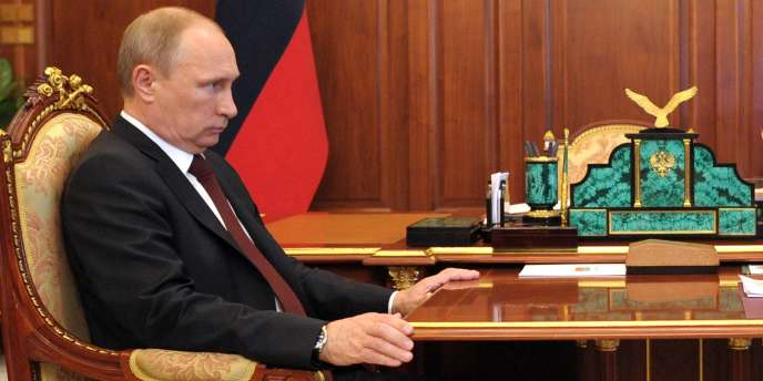 Vladimir Poutine au Kremlin, le 16 juin.
