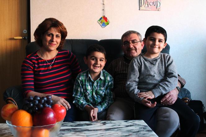 « On a eu la chance de ne pas être séparés, d'autres familles ont été divisées. »