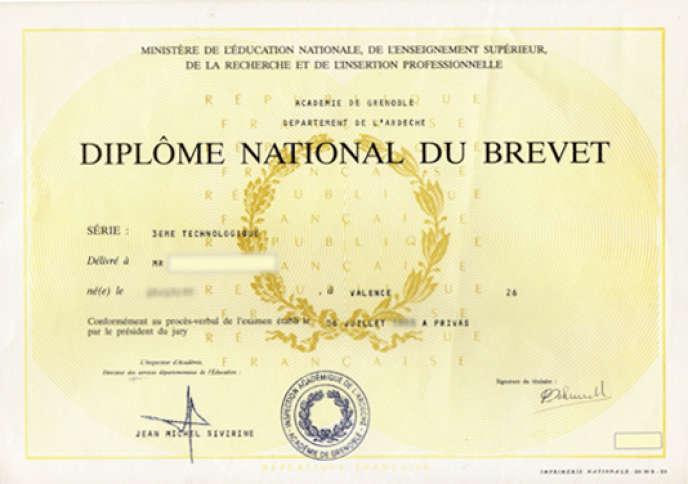 education nationale brevet des colleges