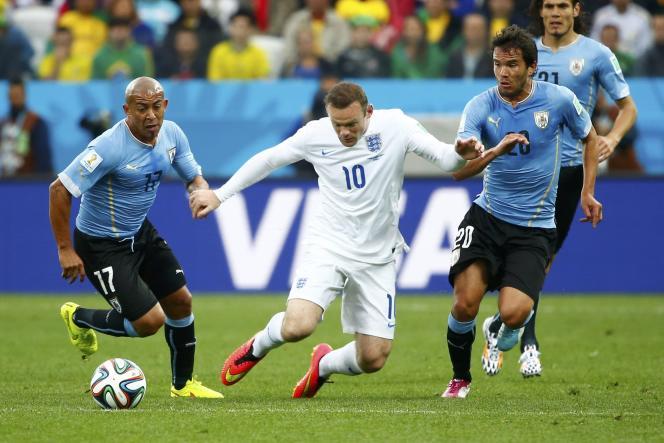 Au bout de dix rencontres, l'attaquant anglais Wayne Rooney a inscrit son premier but en Coupe du monde.