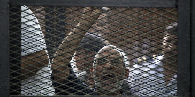 Mohammed Badie, chef des Frères musulmans, avait déjà été condamné à mort fin avril2014.