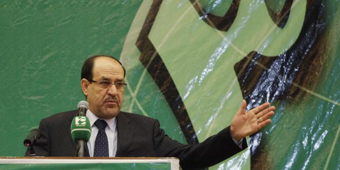 Le premier ministre irakien Nouri al-Maliki est pointé du doigt pour avoir accru les tensions chiites-sunnites par une politique d'exclusion des sunnites.