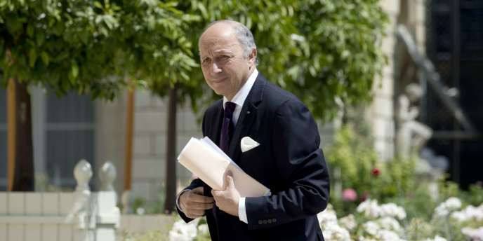 Laurent Fabius, le 19 juin à Paris.