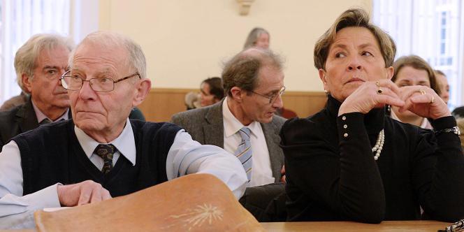 Les parents de Vincent Lambert à la cour administrative de Châlons-en-Champagne, le 15 janvier.