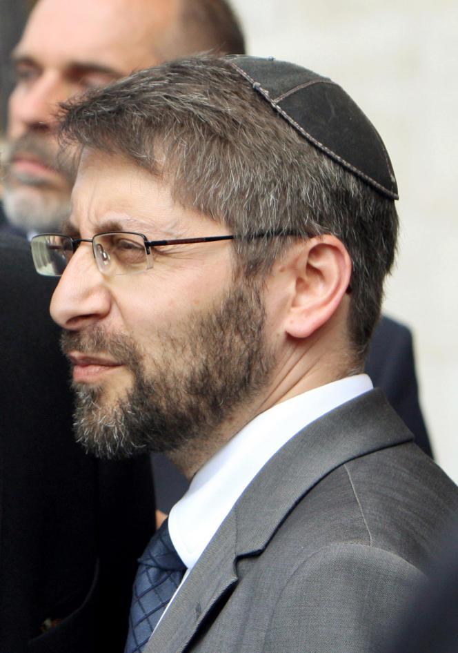 Haïm Korsia, le 3 juin 2009.