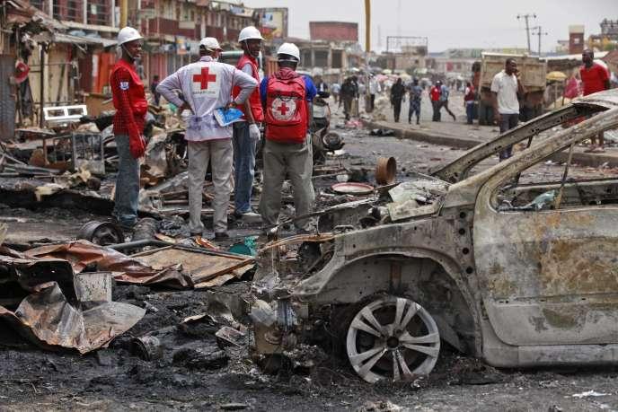 Après un attentat de Boko Haram à Jos, le 21 mai.
