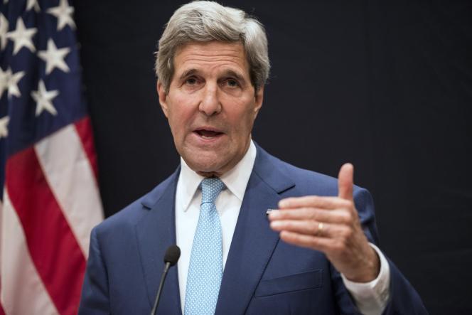 Le secrétaire d'Etat américain, John Kerry, le 22juin.