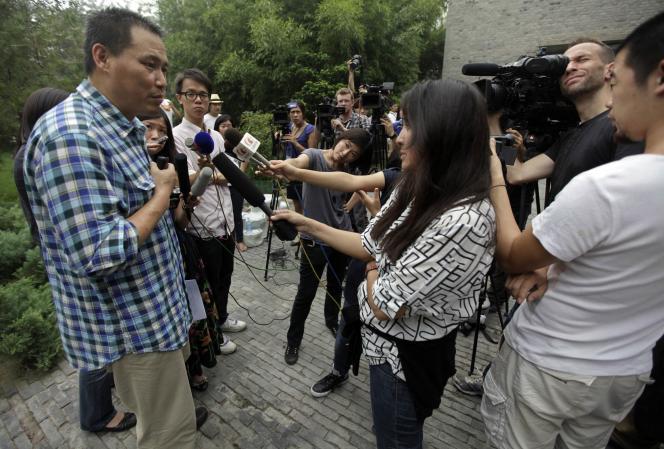 Pu Zhiqiang, le 20 juillet à Pékin.