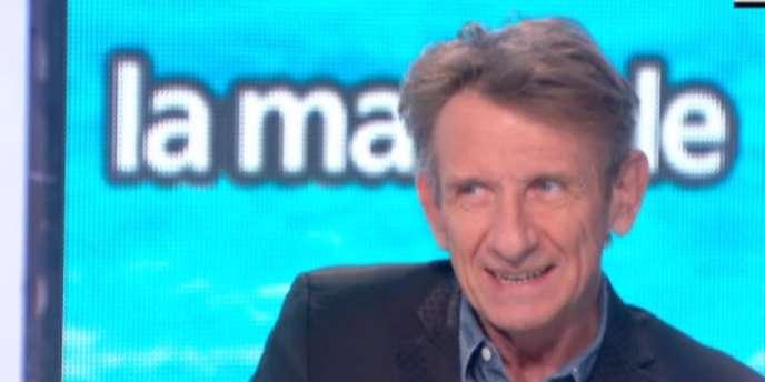 Léon Mercadet dans l'émission