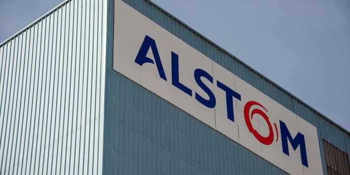 Photo prise en juin du site Alstom de Belfort.