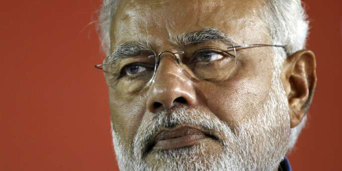 Narendra Modi, le 17 mai à New Delhi.
