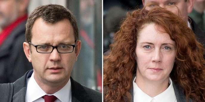 Andy Coulson et Rebekah Brooks étaient accusés d'avoir piraté les téléphones de simples citoyens ou de personnalités dans le but de dénicher des scoops.