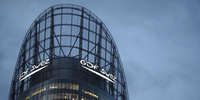 Le siège de GDF Suez à la Défense près de Paris.