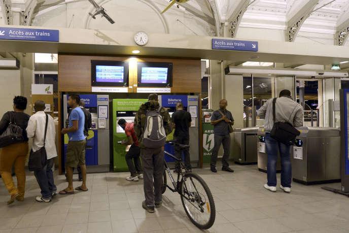 A la gare du Bourget (Seine-Saint-Denis).