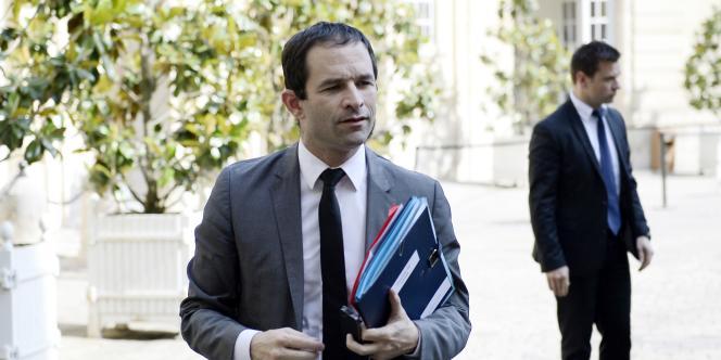 Le ministre de l'éducation nationale, Benoît Hamon, à Paris, le 16 juin.