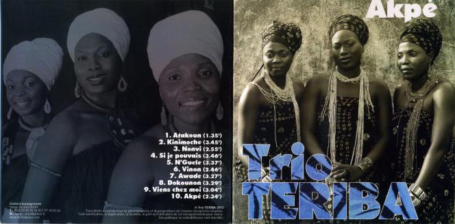 Pochette du CD du Trio Teriba.