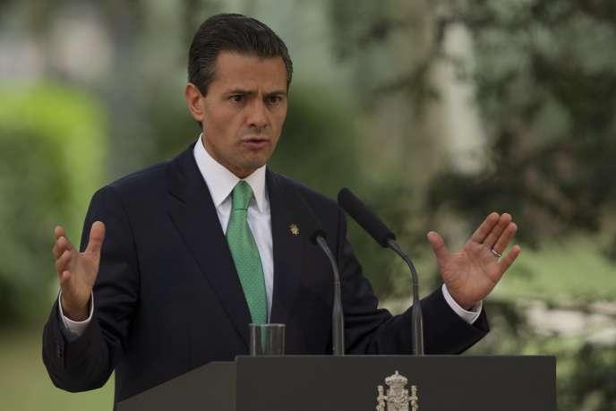Enrique Pena Nieto, le 10 juin à Madrid.