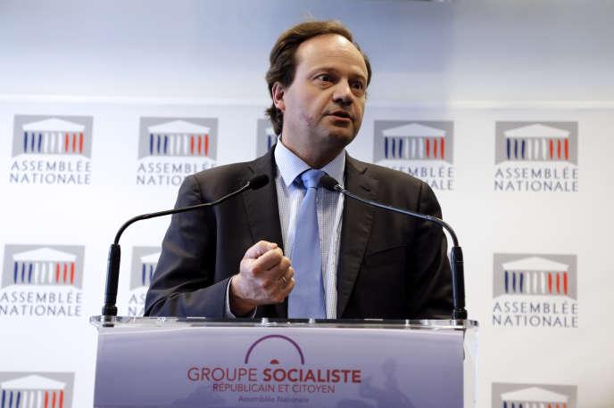 Le député PS des Hauts-de-Seine Jean-Marc Germain à l'Assemblée, en avril 2013.