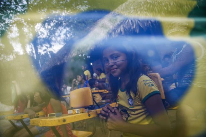 Les Amérindiens de Manaus, le 12 juin.