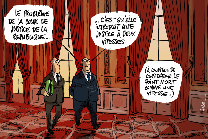 François Hollande assure qu'il va supprimer la Cour de justice de la République.