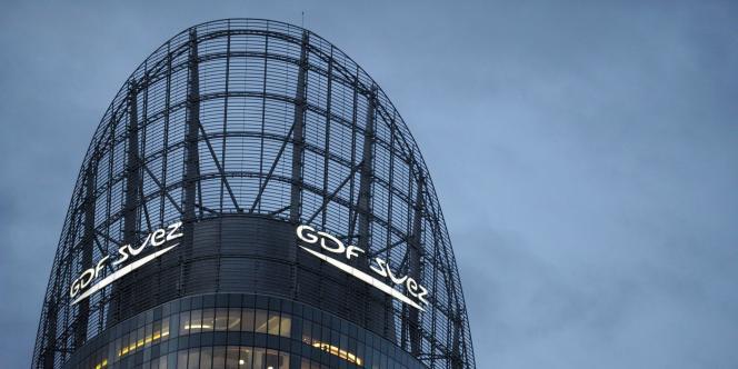 Le siège de GDF Suez dans le quartier de La Défense, à Paris.