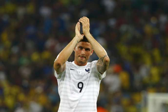 Olivier Giroud, mercredi 25 juin contre l'Equateur.