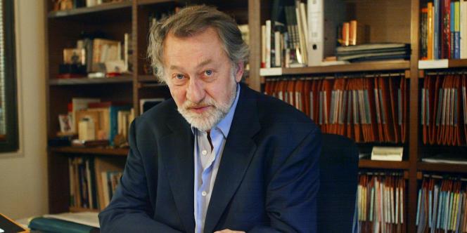 Bernard Faivre d'Arcier était directeur du Festival d'Avignon lorsque la grève des intermittents a conduit à son annulation en 2003.