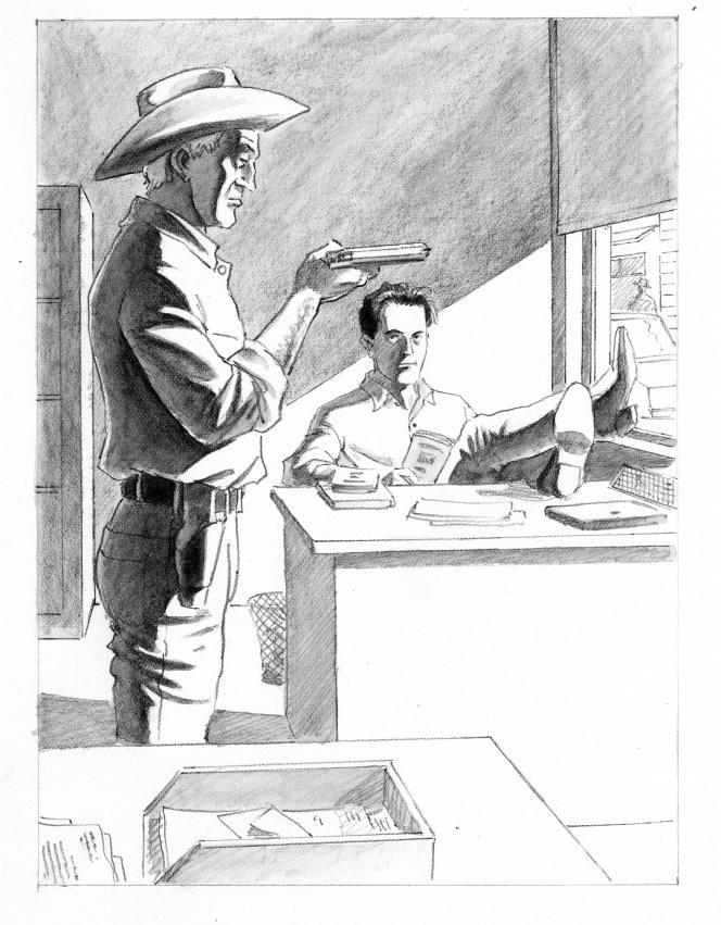 Illustration d'André Juilliard pour