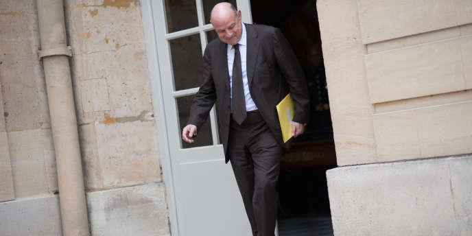 Jean-Marie Le Guen, secrétaire d'Etat aux relations avec le Parlement, le 30 mai, à Matignon.